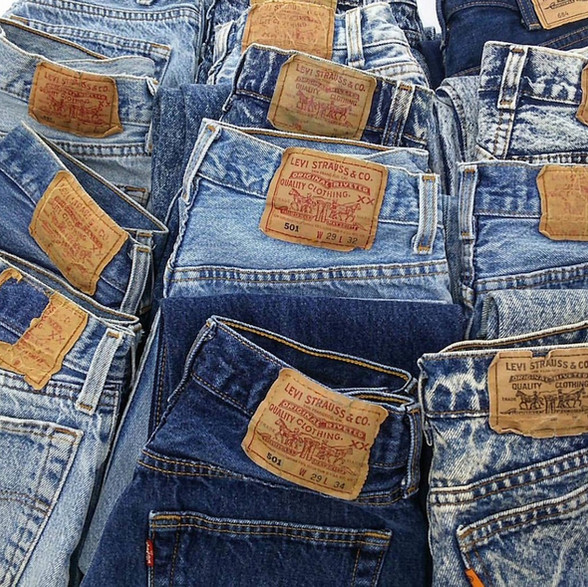 Vintage Levis 501 made in USA