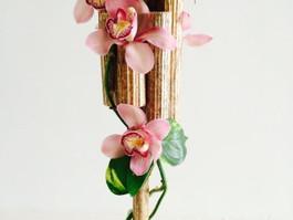 Flower and cinnamon works