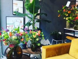 Bloemenetalage voor Sevendays