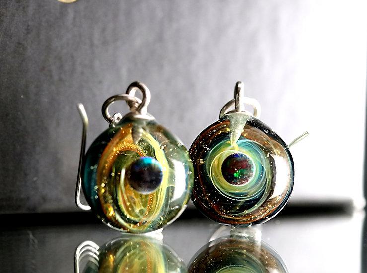 Boucles d'Oreilles univers N°70/71