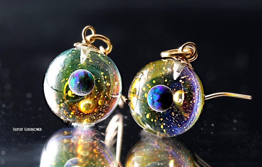 Boucles D'Oreilles Galaxie