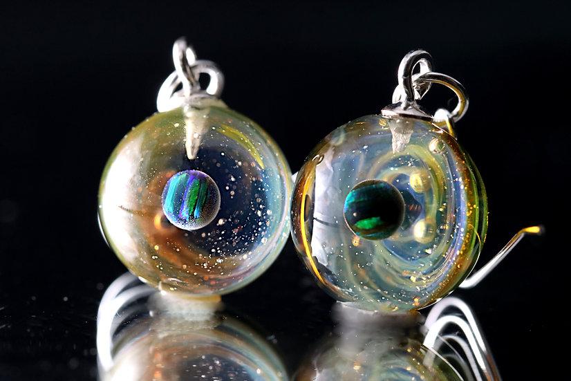 Boucles D'Oreilles Galaxie N° 95/96