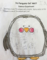 A sample of a student's work
