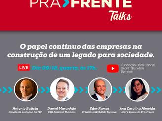 Symrise patrocinará o movimento PRA>FRENTE, iniciativa da FDC