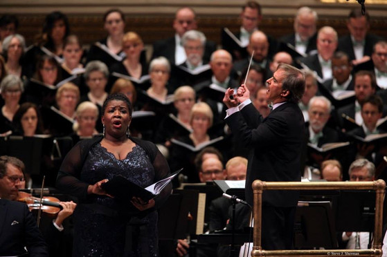 Alto Soloist, with Maestro James Conlon - The Ordering of Moses, Carnegie Hall