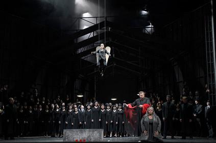 As Fides, with Bruce Sledge as Jean - Le prophete - Deutsche Oper Berlin