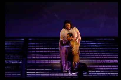 As Erda, with Greer Grimsley as Wotan - Das Rheingold - San Francisco Opera