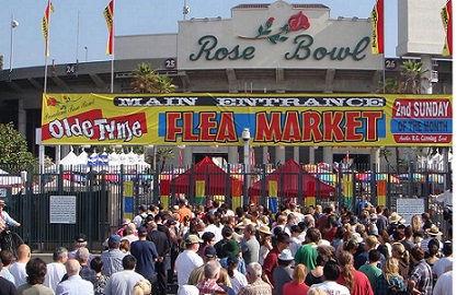 Swap meet ROSE Bowl Pasadena 2nd Sunday.