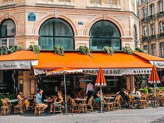 FRENCH RESTAURANT - CAFE - PARIS, FRANCE.jpg -PET FRIENDLY FRENCH RESTAURANT OUTSIDE DOG PATIO