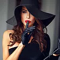 Halloween Sexy Witch in Black.webp