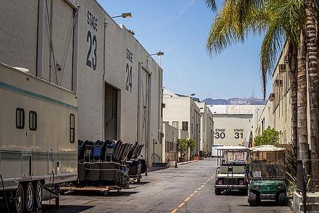 Universal Studios Back Lot - HOLLYWOOD SIGN