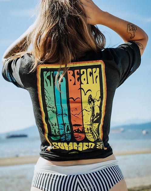 Summer 2021 Tee Shirt - Heather Black