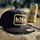 Thumbnail: Kits Beach Beer Patch Six-Panel Snapback Hat - Black