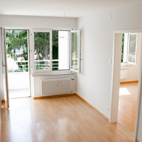 Ausbaustandard Zimmer und Zweitbalkon (nicht bei allen Wohnungen)