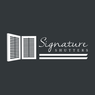 Logo for Signature Shutters