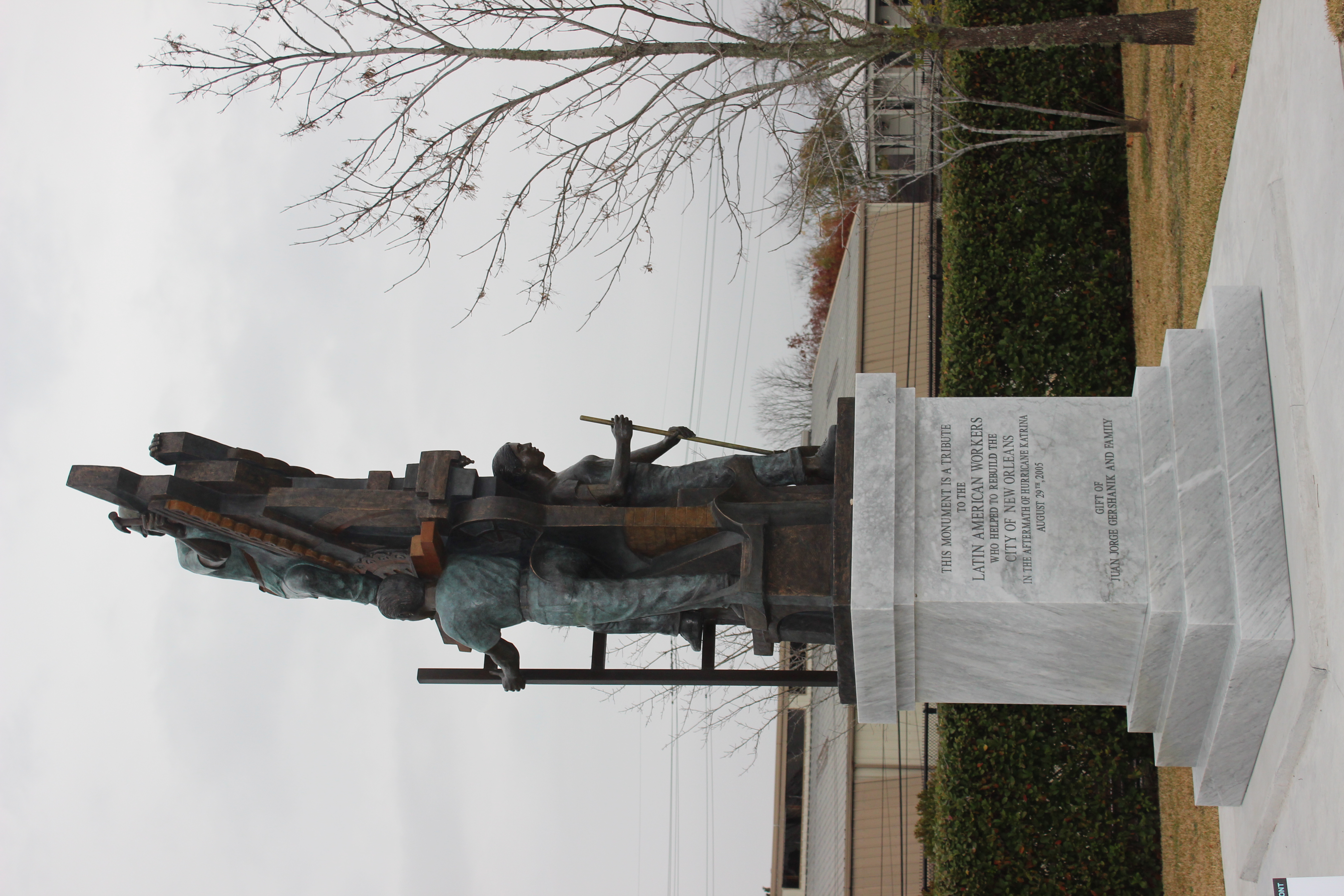 """Monument to the Latino Worker"""
