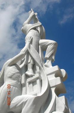 Monument to Fr. Lafleur