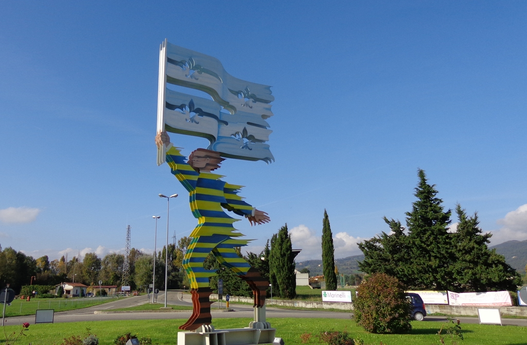 Flagthrower Monument