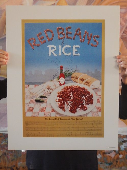 Red Beans and Rice, Poster