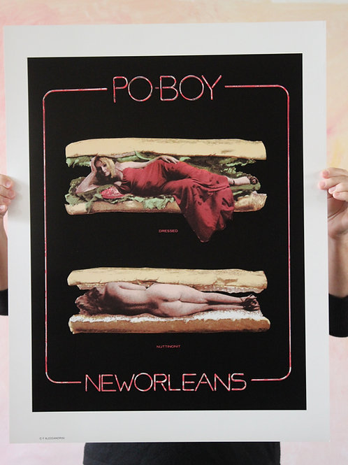 PoBoy, Poster