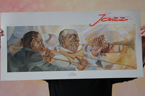 Trumpeter of Jazz, Poster