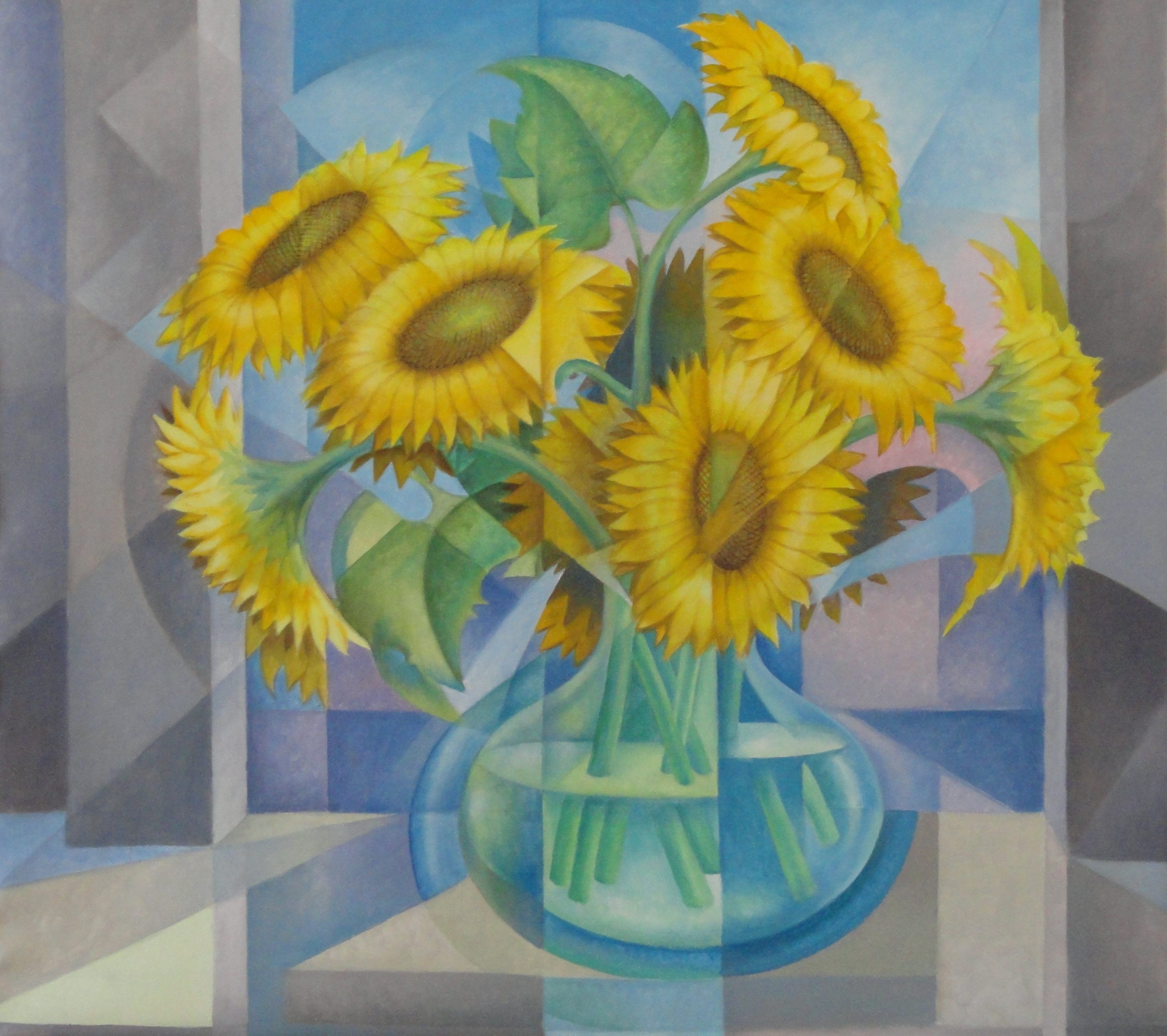 Sunflowers in Vase