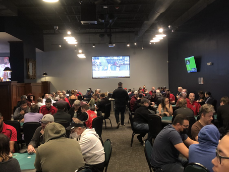 Day 1B Underway: Cards are in the Air!
