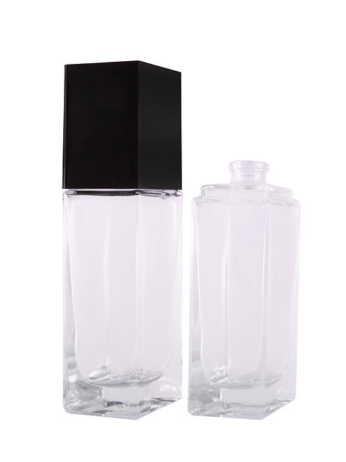 Gem Bottle With Black Cap