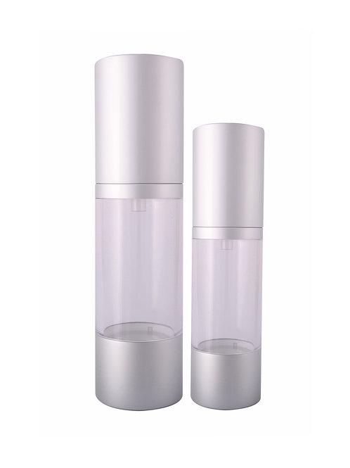 Matt Silver Airless Bottle