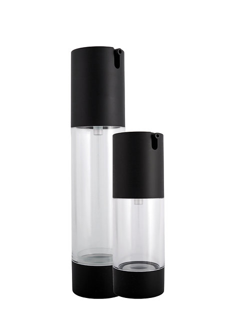 Matt Black Airless Bottle