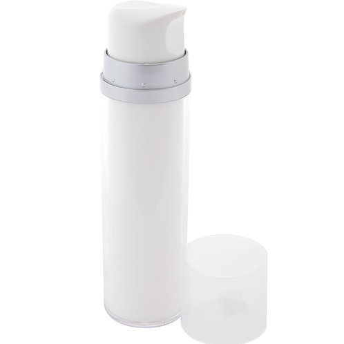 White Airless Bottle