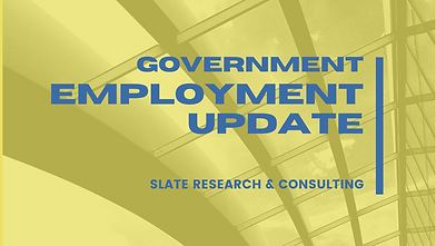 Government Employment Update Blog Banner