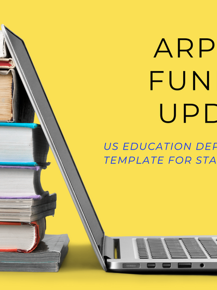 US Education Department Provides Updates on K-12 American Rescue Plan Funding