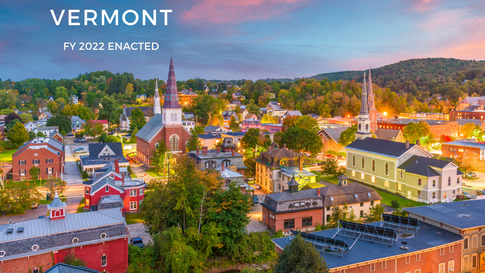Vermont FY2022 Enacted Budget Analysis