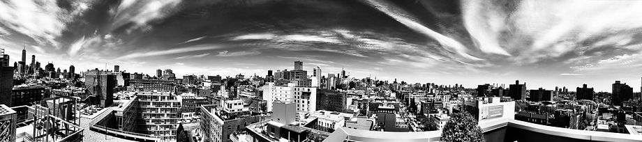 View from East of Bowery, East Village, New York