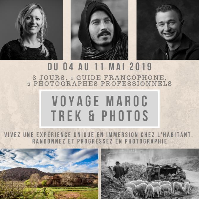 Voyage Trek & Photo au Maroc