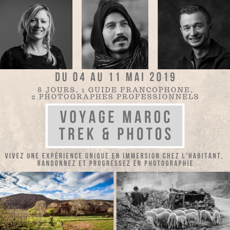 Voyage stage photo Maroc