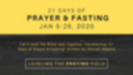 Week of Prayer & Fasting 2020 Powerpoint