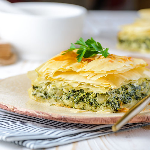 Family Cheese & Spinach Pie