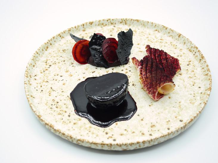 encornet betterave hibiscus riz noir.JPG
