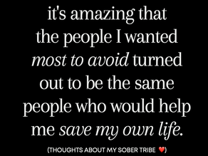 To my tribe ❤️
