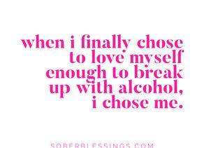 I choose me.