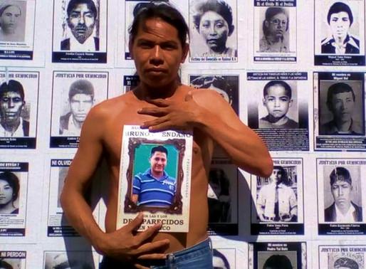 « À la mémoire de mon petit frère Bruno et des 37 000 disparus au Mexique »