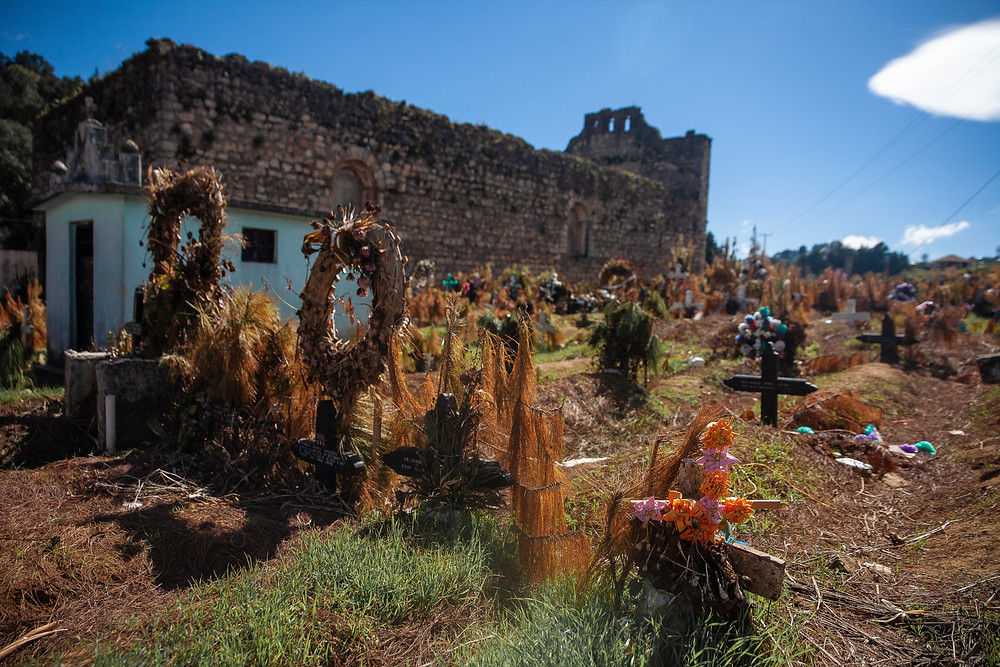 The San Juan Chamula's cemetery a few weeks after the Day of the Dead by @NinaSarfas - Uekani