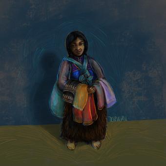 Femme de San Juan Chamula