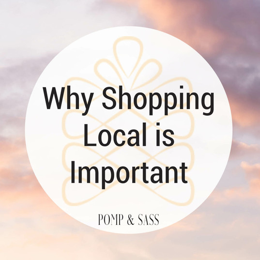 Why Shopping Local is Important