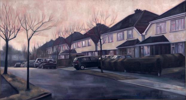 Alex's house, boring, mundane, monotonous, suburbia