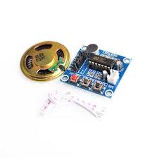 מעגל מקליט קול ISD1820 + רמקול