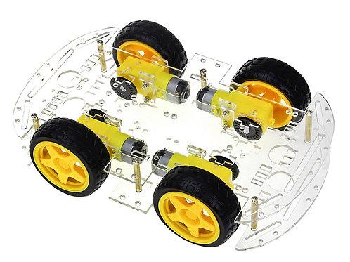 ערכה להרכבה רכב חכם 4 גלגלים