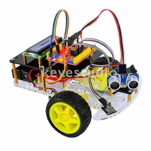 ערכה להרכבה רכב חכם 2 גלגלים עם חיישנים